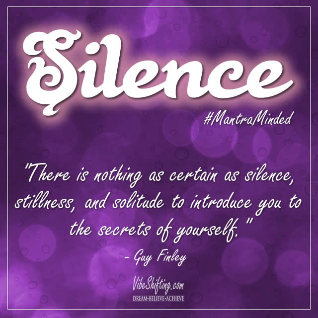 Silence quote image