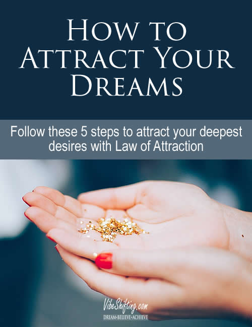 how to attract your dreams - Pinterest pin