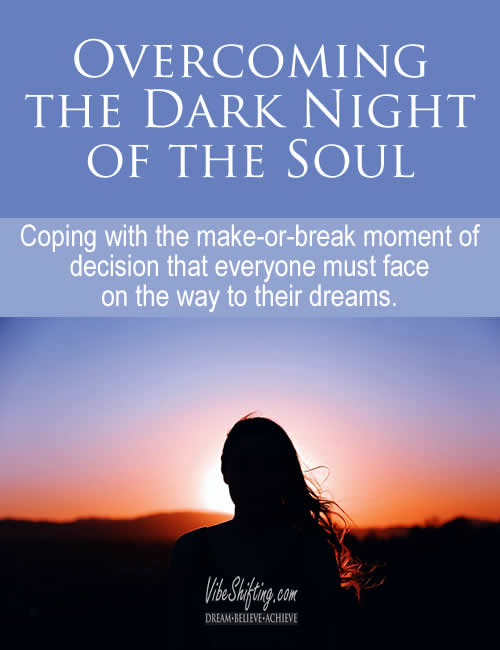 Dark Night of the Soul - Pinterest pin