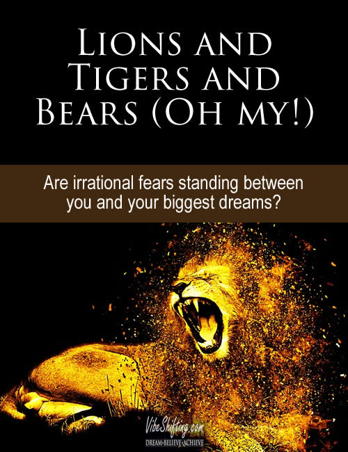 Lions and Tigers and Bears - Pinterest pin