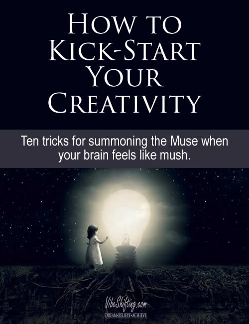 How to Kick-Start Your Creativity - Pinterest pin