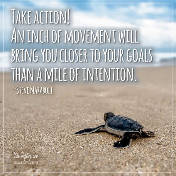 Quote about taking action