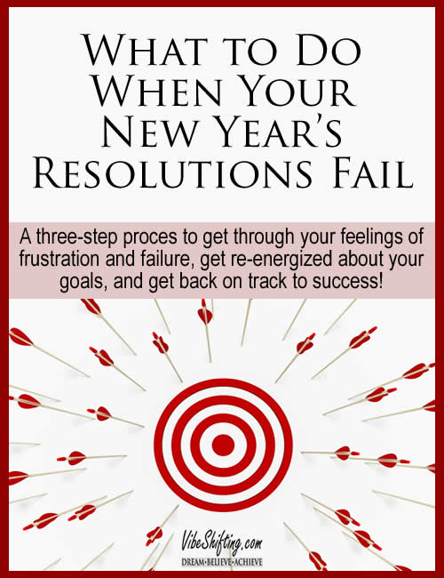 When your New Year's resolutions fail give this 3 step strategy a try