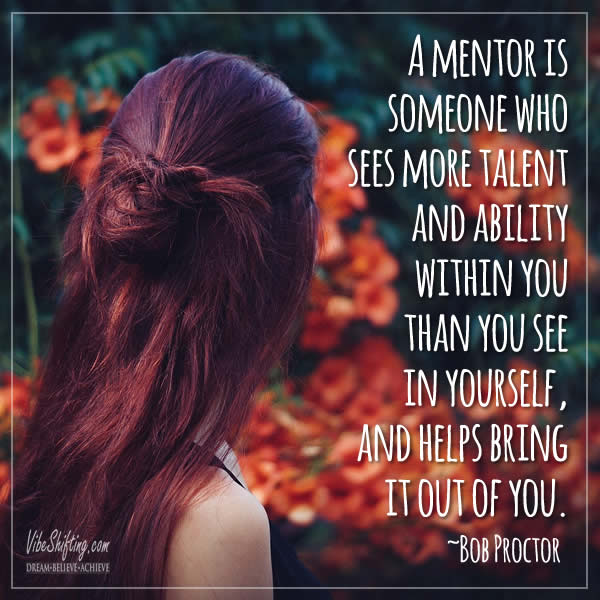 Quote about mentors