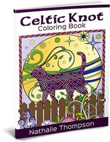 Cover Image - Celtic Knots Coloring Book