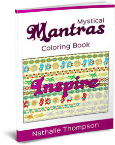 Cover Image - Mystical Mantras Coloring Book